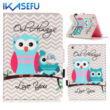 IKASEFU PU Leather for iPad mini 123 Coque Fundas for MINI ipad Mini 3 2 1 TPU Silicone Back mini1 mini2 mini3 Capa Case Cover