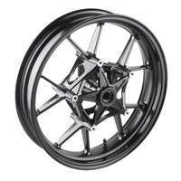 Motorcycle Alloy Front Wheel Rims For BMW S 1000 RR 2010 2011 2012 2013 2014 2015 2016 2017 2018 & S1000R 2014 2018 Black