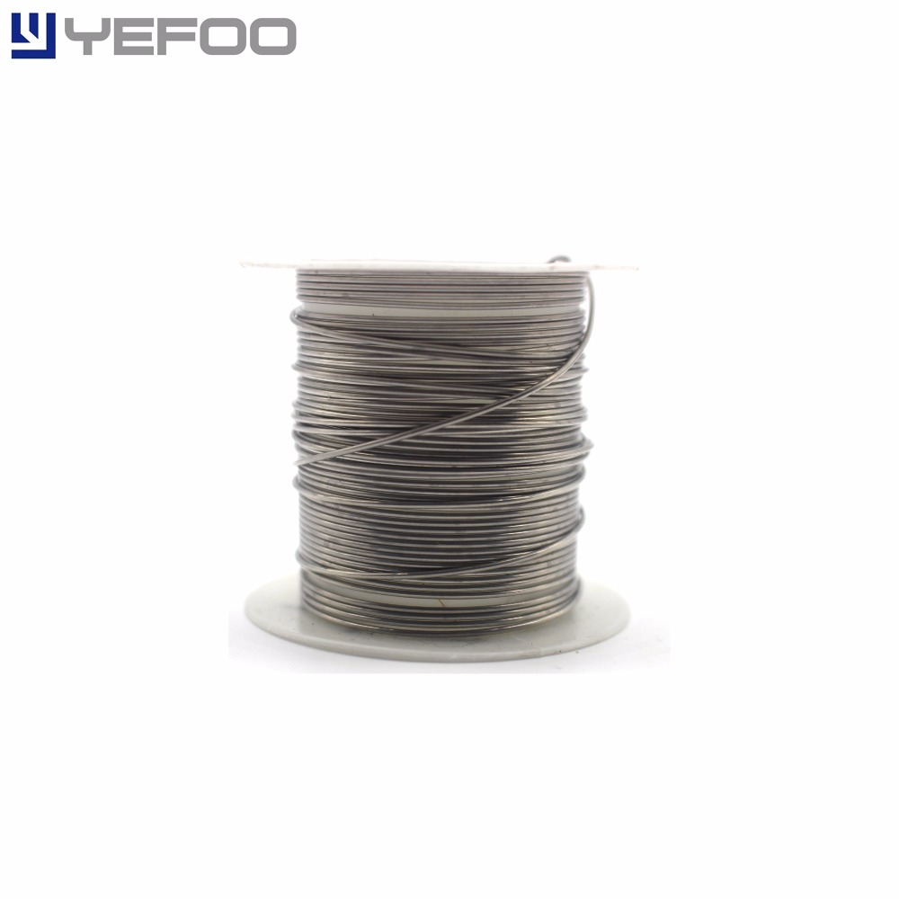 30M 0.8mm Diameter AWG20 20 Gauge Kanthal A1 Resistor Wire Resistance 0 4mm diameter 26 gauge kanthal resistance wire roll e cigarette coils for atomizers diy 30 feet