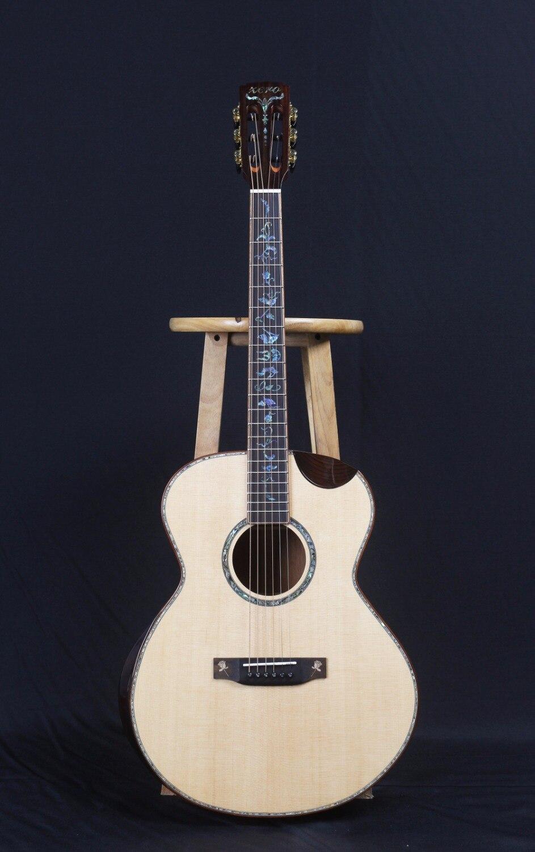buy zero z ss3928 full solid wood acoustic guitar 39 inch guitarra acoustic. Black Bedroom Furniture Sets. Home Design Ideas