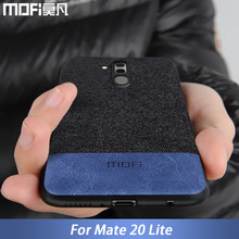 for Huawei Mate 20 Lite case cover mate20 back cover silicone fabric shockproof case capas MOFi original mate 20 lite case(China)