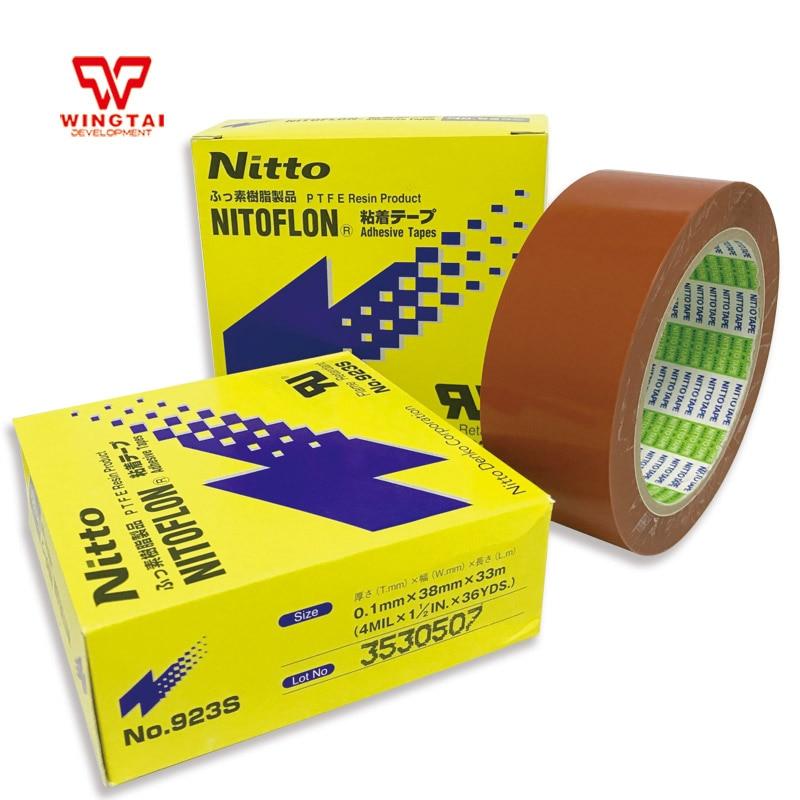 Aliexpress.com : Buy 5 Pcs /lot T0.10mm*W38mm*L33m Original Japan NITTO DENKO 923S Nitoflon Heat