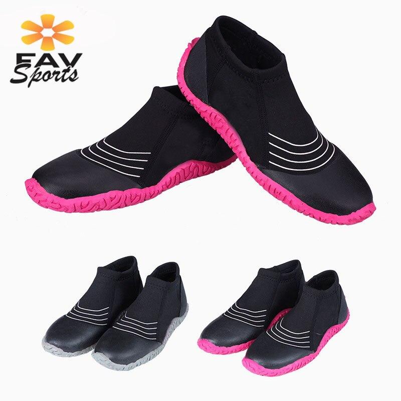 Unisexe 3mm néoprène plongée palmes de natation sports nautiques plage combinaison bottes antidérapant plongée en apnée chaussures