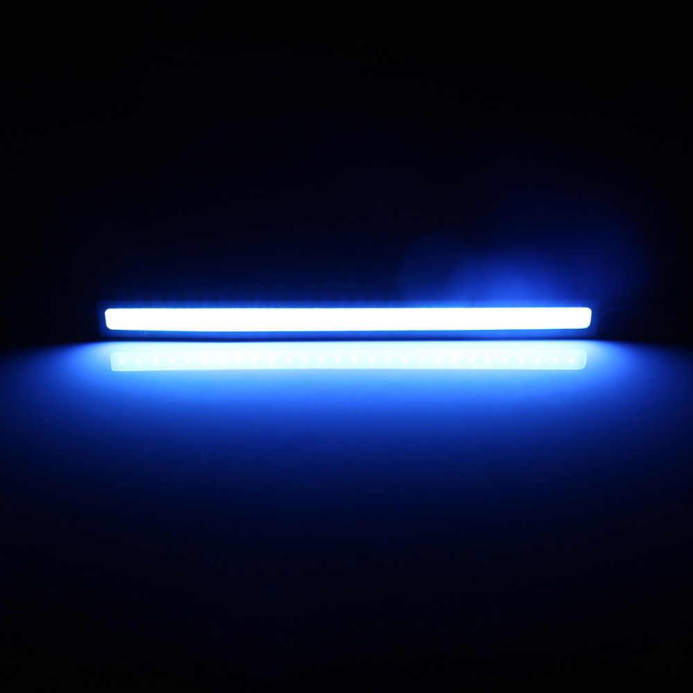 1 шт. ультра светодио дный яркие светодиодные дневные ходовые огни светодио дный полосы автомобиля DRL DC 12 В в 17 см водостойкие Авто COB водительские противотуманные фары