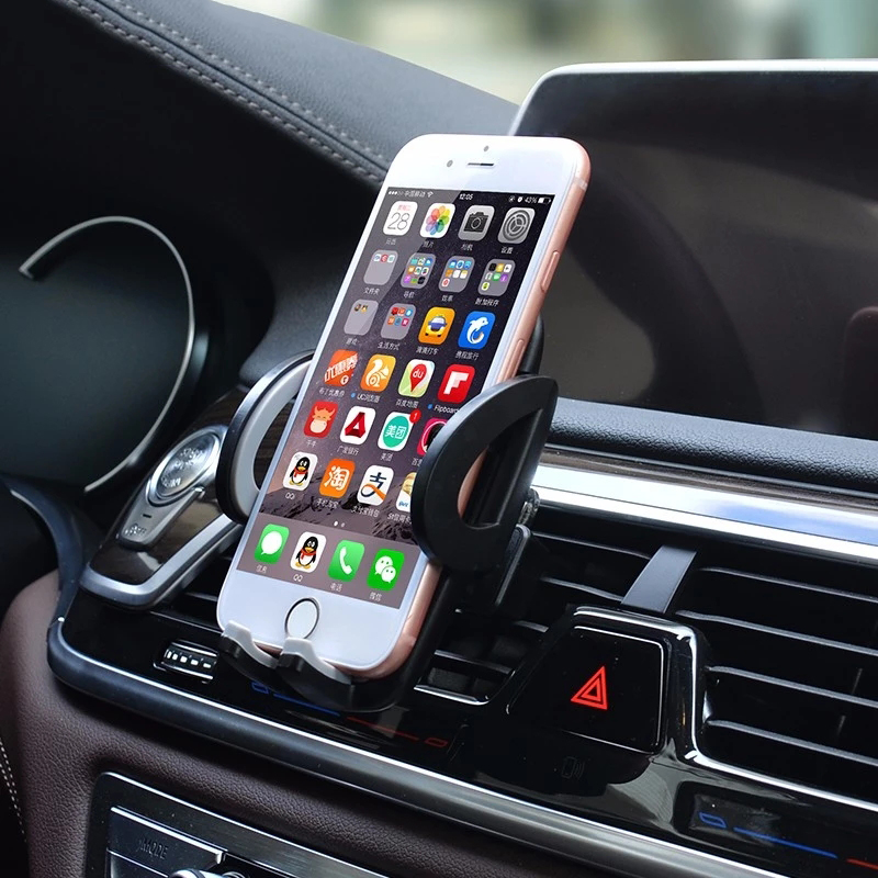 DuDa Universal Smartphone Car Holder Support Air Vent Stand Mobile Phone Accessories For iPhone 6s 8 X 7 6 Plus Samsung Note S8 in Phone Holders Stands from Cellphones Telecommunications
