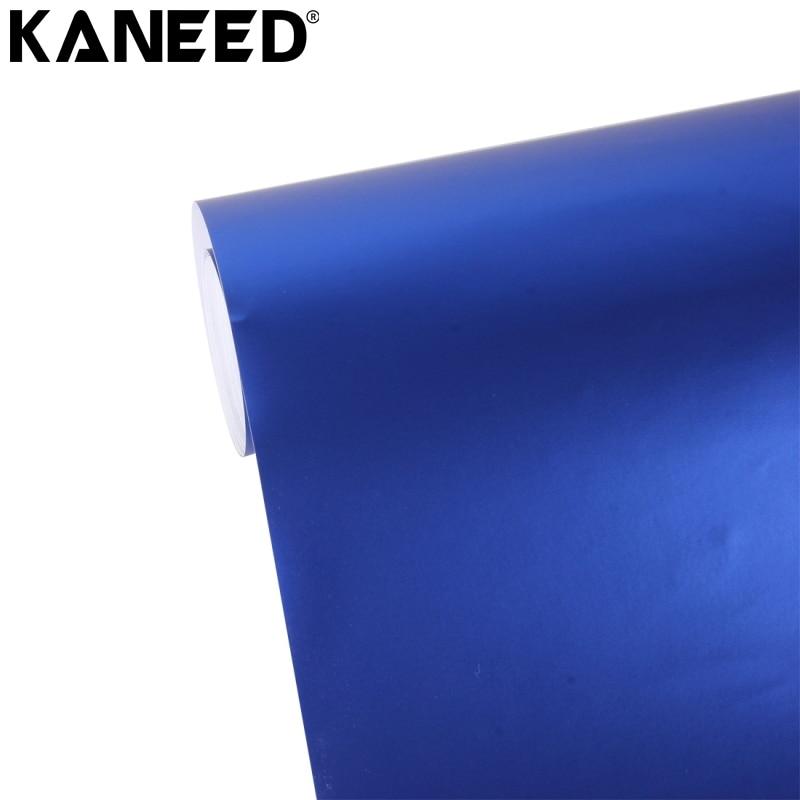 KANEED Autocollant Teinte Vinyle Film 8 m * 0.5 m Métallique Mat Icy Glace De Voiture Decal Wrap Auto Emballage Véhicule autocollant Feuille De Moto