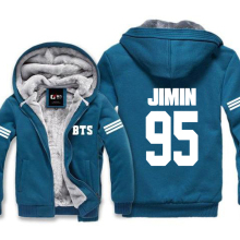 BTS Zip-Up Winter Hooded Jacket [3 colors]