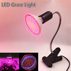 LED Grow Lights Plant Grow Light 200led 60led Full Spectrum E27 Red+Blue Hydroponic Flower Veg Growing Lamps with E27 table clip
