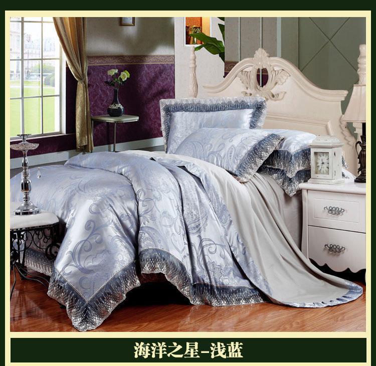 luxury bedding comforter set king queen size duvet cover bedspread bed