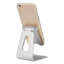 Luxurious New Universal Adjustable Portable Aluminum Desk Stand Holder Anti-skid Mount For iPad Mini For Phone 7 6s 6plus Tablet