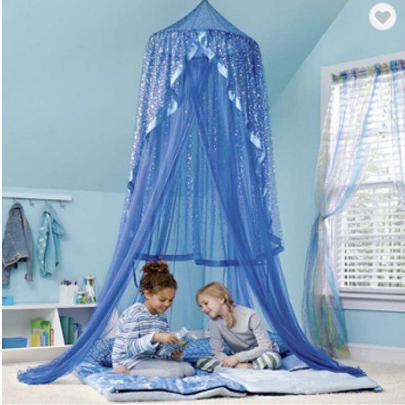 2019 Flash Kuppel Prinzessin Bett Zelte Dreamy Kinder Zimmer Schmücken Für Baby Kinder Lesen Play Indoor Tipi Zelt Kinder