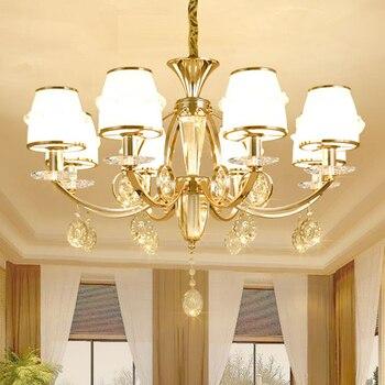 Moderne glazen Kroonluchter Verlichting voor Eetkamer Slaapkamer Woonkamer Keuken