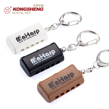 KONGSHENG 5 Hole Harmonica MINI HARP 10 Tone Musical Instruments  Key of C for Beginners Woodwind Instrument present MouthOrgan