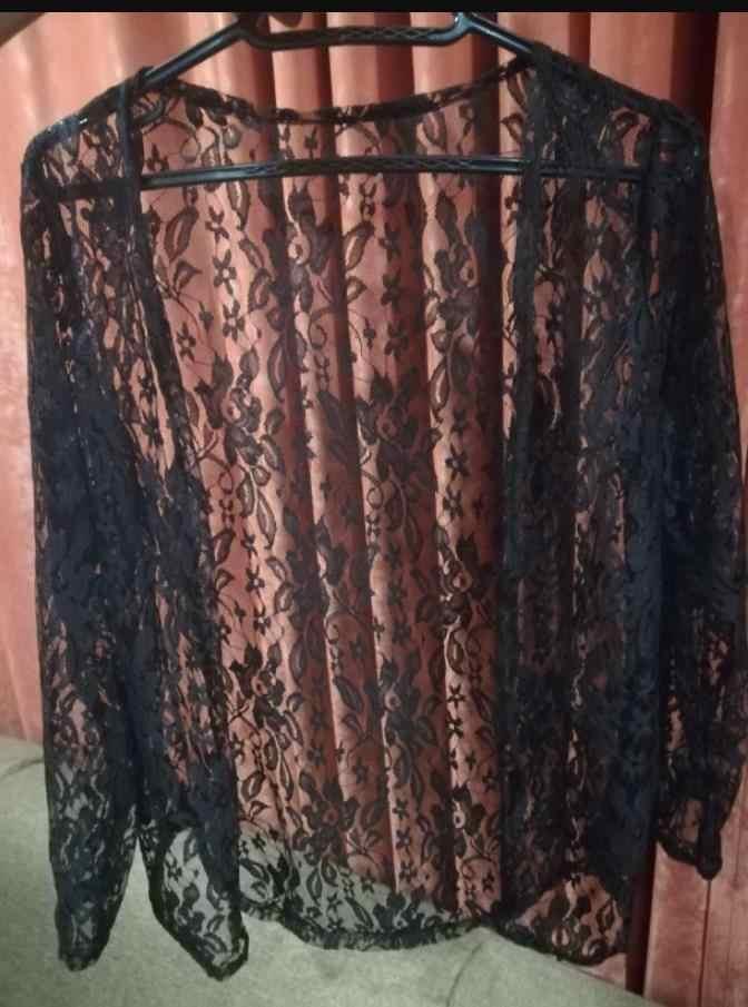 Frühling sommer Mode Sehen-durch Spitze bluse Langarm Strickjacke Casual Lose Baumwolle Frauen Tops Plus Größe hemd Strickjacke