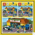 Nueva KWIK-E-MART LEPIN 16004 2232 Unids los Simpsons Figuras de Acción Modelo de Bloques de Construcción Ladrillos Compatible 71016 regalo Del Muchacho