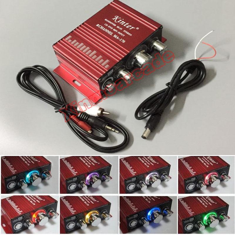 X MA-170 Amplifier 01