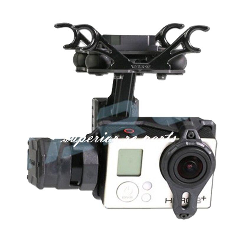 Таро TL2D01 T2-2D Бесщеточный Gimbal для Gopro HERO3 HERO4 Спорт Камера аэрофотосъемки FPV скидка 50%
