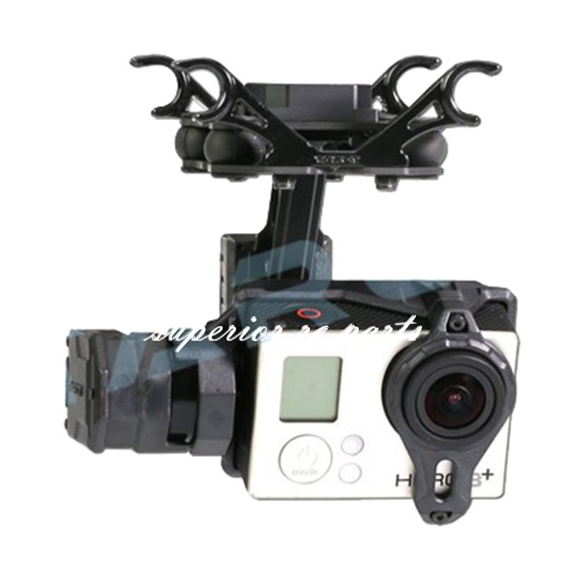 Tarot TL2D01 T2-2D Brushless Cardan pour Gopro HERO3 HERO4 Sport Caméra Photographie Aérienne FPV 50% OFF