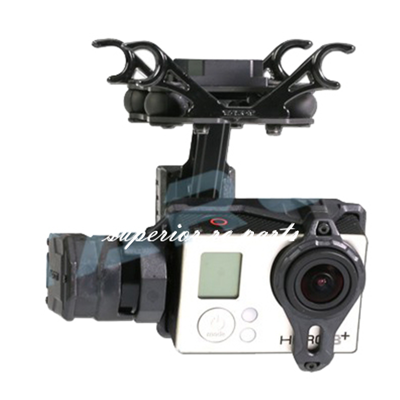 Tarot TL2D01 T2-2D Brushless Gimbal for Gopro HERO3 HERO4 Sport Camera Aerial Photography FPV hj5208 75t brushless gimbal motor for 5d2 camera fpv aerial photography black