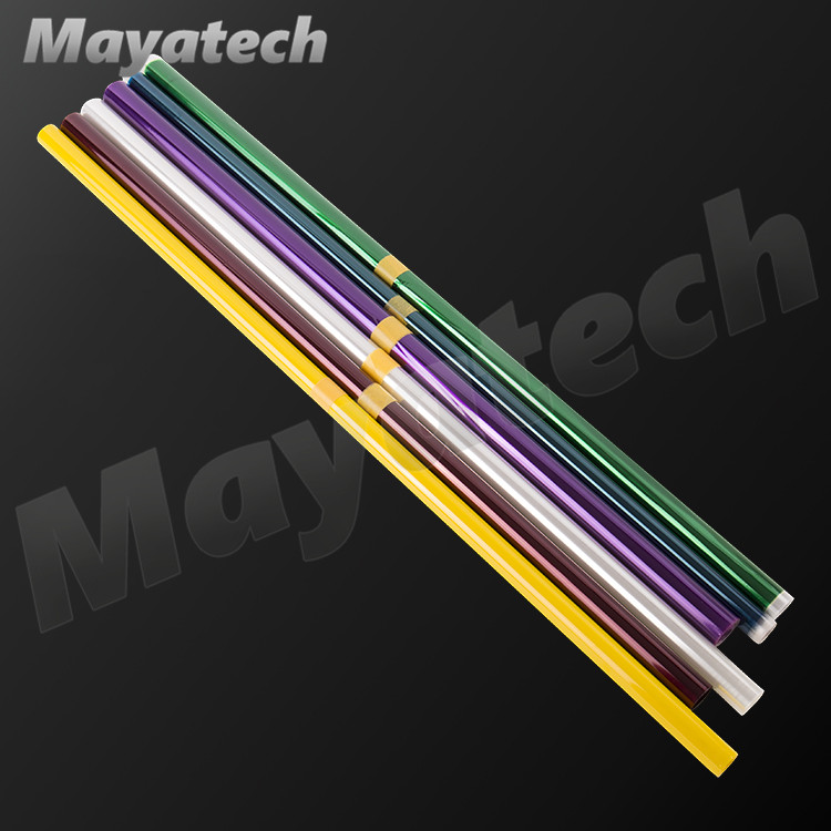 Mayatech 2Meters/Lot Tranparent Colors Hot Shrink Covering Film For RC Airplane Models DIY High Quality image