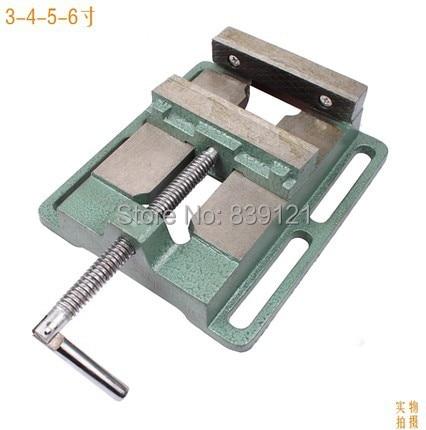Flat nose pliers Jian Yiqian drill vises woodworking table vise vise 6 inch flat nose pliers machine