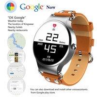 2017 Interpad Смарт часы Android iOS Smartwatch Электроника для здоровья спортивные трекер часы с сердечного ритма gps WI FI телефон 3G часы
