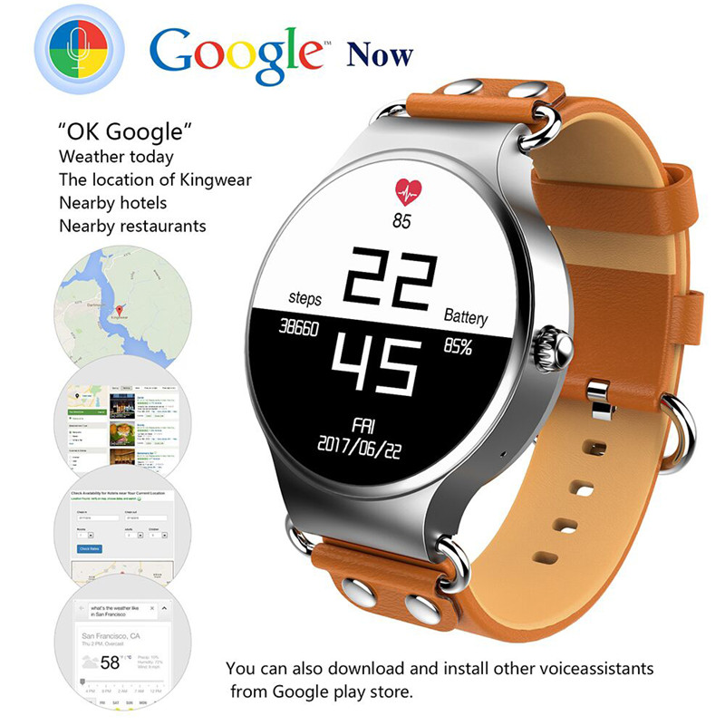 2017 Interpad Smart Watch Android iOS Smartwatch Smart Health Sports Tracker Clock With Heart Rate GPS WIFI 3G Phone Watch цена