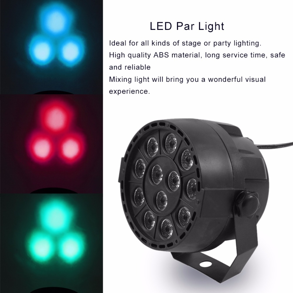 12 LED Bar Light Mini Phono Disco Stage Effect Lighting Projector Club Party KTV Show Flat DJ Equipments Controller Moving Head led 30w spot moving head lights party disco dj stage lighting 30w mini gobo projector dmx stage effect light led pattern lamps