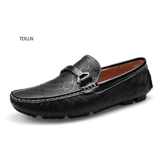 2016 100% новый высокое качество мужская мода первый слой коровьей плоским вождения обувь бизнес обувь дышащая повседневная обувь прилив