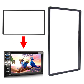 For Car Multimedia Player 2 Din Audio Fascia Frame for Car Radio MP5 DVD Stereo CD Panel Dash Mount Installation Trim Frame Kit image