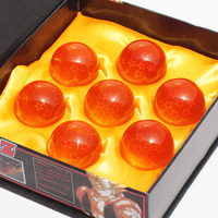 3 5CM New In Box DragonBall 7 Stars Crystal Ball Set Of 7 Pcs Dragon Ball