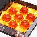 Dragon Ball Z 3.5CM DragonBall Figure 7 Stars Crystal Ball PVC Figure Toys 1~7 Crystal Balls Figures 7Pcs/Set Boxed Great Gift