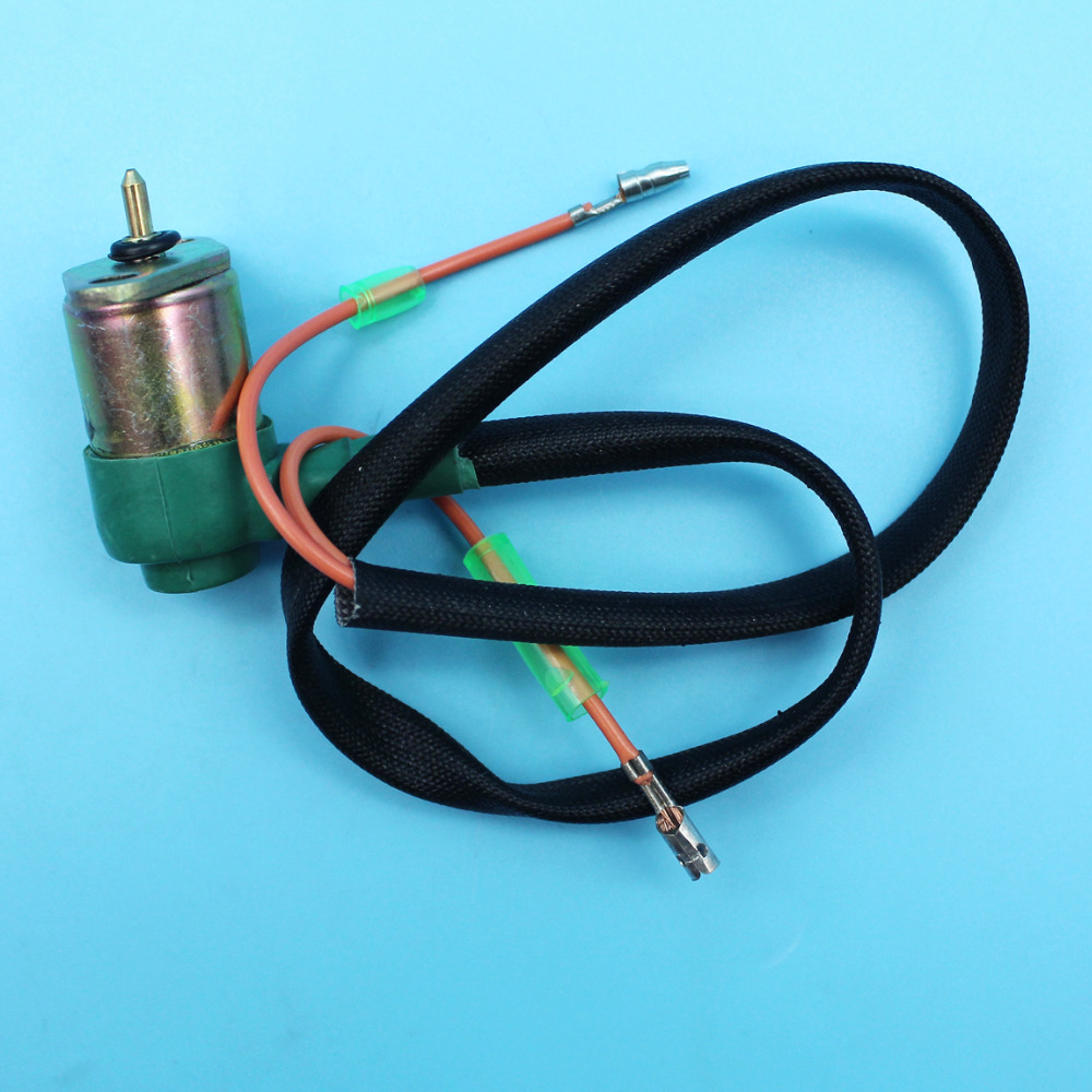 small resolution of carburetor solenoid wire assy for honda gx340 gx390 11hp 13hp chinese 188f generator engine motor e 5000 e 6500