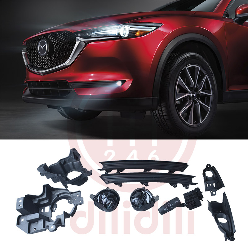 Led Fog Lights Lamp Kit For Mazda Cx 5 Cx 5 Without Auto