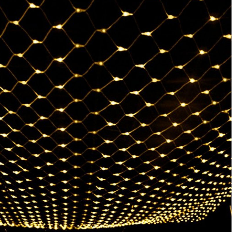 waterproof 2m2m 144led christmas led net lights fairy lights mesh nets fairy lights outdoor garden christmas decoration in holiday lighting from lights