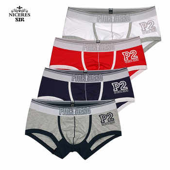 PINK HERO men underwear wholesale Men's Boxers Shorts Boy Male Underpant Solid Color Sexy Mans Underwears Fat - DISCOUNT ITEM  24% OFF All Category