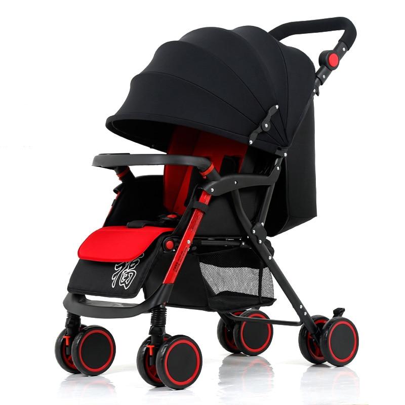 Marke Kinderwagen ultraleichten Klapp sitzen kann hoch Landschaft - Kinder Aktivität und Ausrüstung - Foto 2