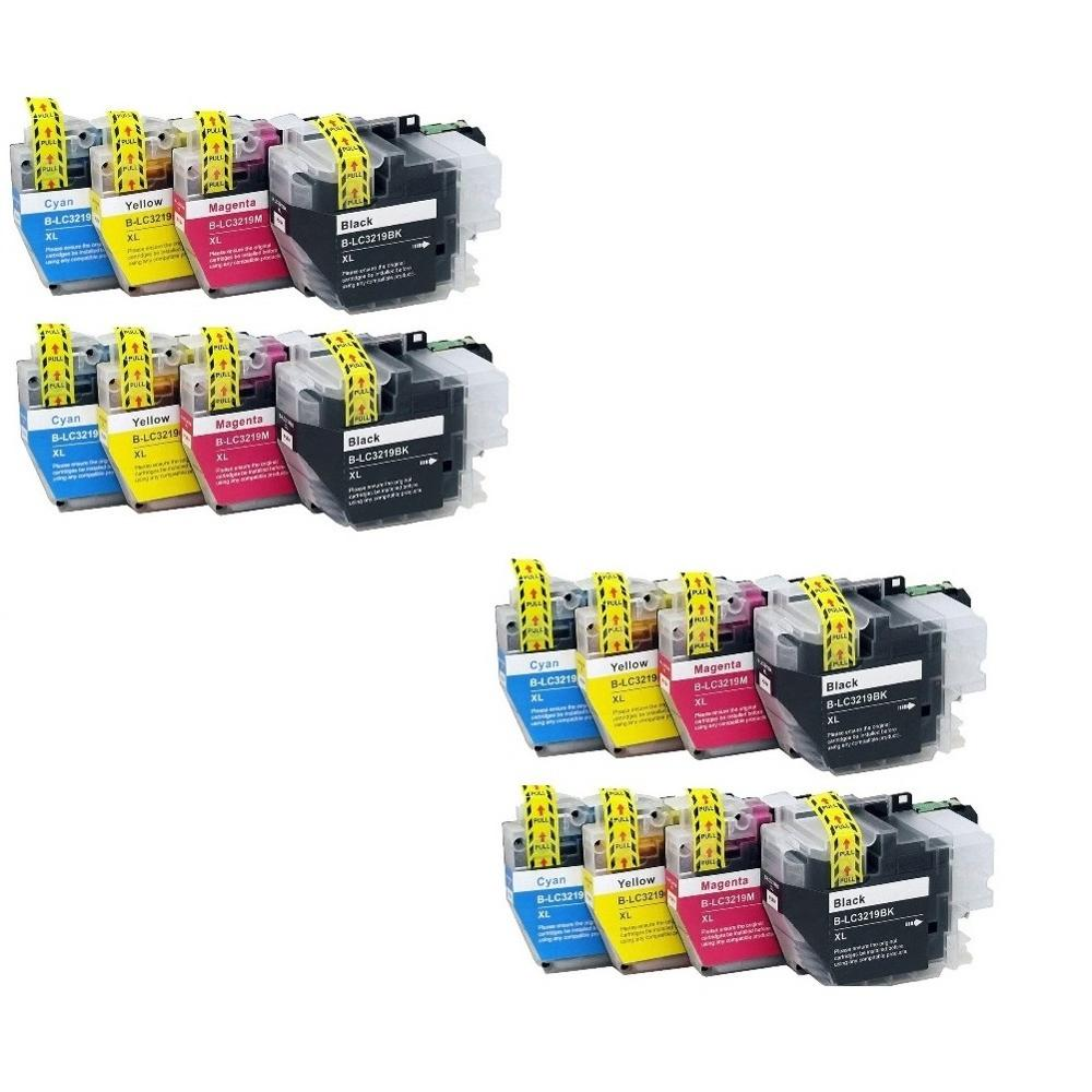 INK WAY LC3217 LC3219 ink cartridges For Brother MFC J5330DW MFC J5335DW J5730DW J5930DW J6530DW J6930DW