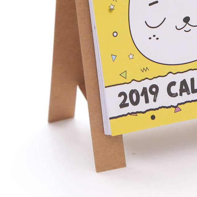 Remarkable Us 1 62 2019 Cute Cartoon Animals Series Calendars Mini Table Desk Calendar Office Work Learning Schedule Periodic Planner Stationery In Calendar Beutiful Home Inspiration Truamahrainfo