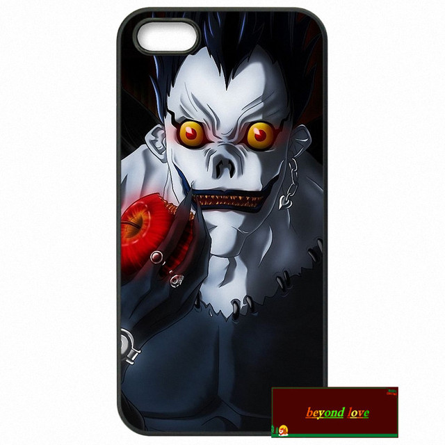 Anime Manga Death Note Phone Cases Cover For iPhone 4 4S 5 5S 5C SE 6 6S 7 Plus 4.7 5.5