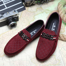 Men Flats  Shoes Slip On Male Loafers Driving Moccasins Homme Casual Fashion Dress Wedding Footwear