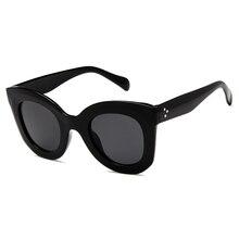 ISummer Novas Mulheres Olho de Gato óculos de Sol olho de Gato óculos de Sol  Do Vintage óculos 2018 óculos de Marca Óculos Escur. 874e1e7807