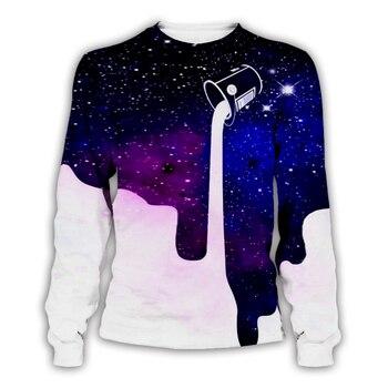 Men/Women Milk Drink purple Galaxy space 3d Print Hoodies ,Sweatshirts ,pants and shorts