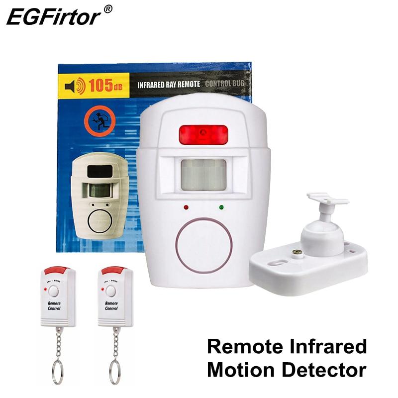 Alerta de Alarme Home PIR Detector De Sensor De Movimento Sem Fio do Alarme De Controle Remoto Casa Guarda Sinalização Sensor Monitor de Anti-roubo