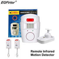 Home Alarm PIR Alert Motion Sensor Detector Wireless Remote Control Alarm House Guard Signaling Anti-theft Monitor Sensor