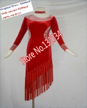CHEAP PRICE!!!! High Quality.Latin dance dress,tango salsa,Salsa Tango Rumba Cha Cha latin dance competition costumes