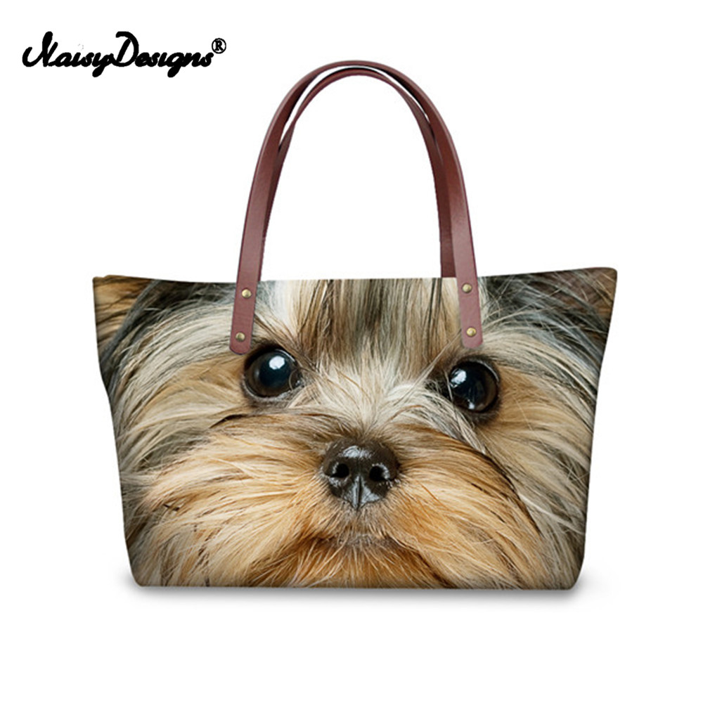 Noisydesigns Woman Bags Cute Dog Boston Terrier Female Handbags Casual Tote Crossbody Bags for Lady Travel Shoulder Bag Feminine