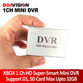 Xbox 1 canal hd super-mini dvr inteligente bordo del fashional forma dgital video recorder color negro y plata