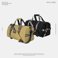 INFLATION Letter Luggage & Travel Bags Large Capacity Hand Nylon Luggage Weekend Bags Street Swag Fashion Hip hop Bag 199AI2018