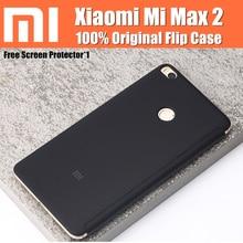 Xiaomi Mi Max 2 Чехол оригинальный на основе магнитной автовключение/Сон Смарт флип чехлы с подставкой для Xiaomi Mi Max 2 6.44 дюйма